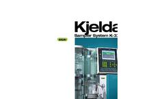 Kjeldahl Sampler System K-370/K-371 Brochure