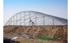 1.5mm HDPE Geomembrane Liner For Salt Evaporation Pond Liner Project In China