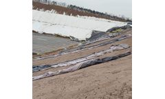 American Standard Double-side Smooth GM13 HDPE Geomembrane For Gold Mine Tailing Treatment