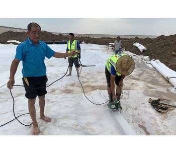 How do you connect HDPE Liner