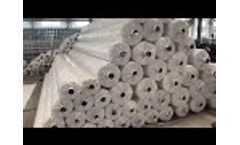 320 PET Woven Geotextile Package - Video