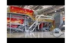 Athens Services 70 tph MRF: Mixed Materials Recovery Video
