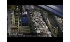 Debris Roll Screen: Single Stream Recycling Video