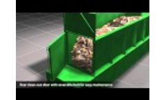 BHS Metering Bin Animation: Materials Recovery Facility (MRF) Infeed Video