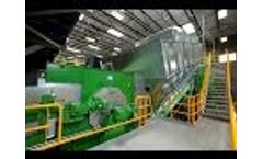 Nihot Single Drum Separator (SDS): Municipal Solid Waste (MSW) Processing Video