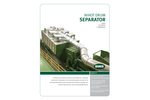 BHS Nihot - Model SDS - Single Drum Separator - Brochure