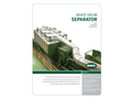 BHS Nihot - Model SDS - Single Drum Separator - Brochure