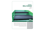 BHS - Debris Roll Screen (DRS) - Brochure