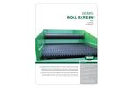 BHS - Debris Roll Screen (DRS) - Brochure
