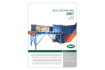 BHS - Model XD - Bale Breakdown Unit (BBU) - Brochure