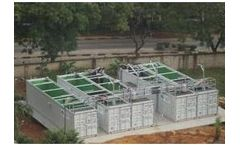 MBR-Container - Fully Biological Wastewater Treatment Plants