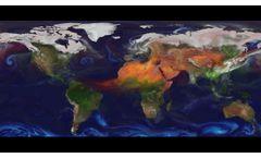 NASA | GEOS-5 Aerosols - Video