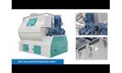 CE Certificated SHSJz Series Double Shaft High Efficiency Mixer - Video