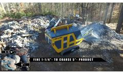 New Beyer JC-0535-TH Tracked Jaw Crusher - Video