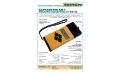 SatisGeo - Model KM-7 - Magnetic Susceptibility Meter  - Brochure