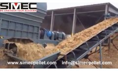 SIMEC Straw Bales Shredder - Video