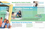 Dust Fighter - Model 95 - Electrostatic Air Filter Brochure