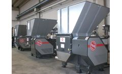 ISVE Recycling - Model MS 22-60 - Single-shaft Shredders