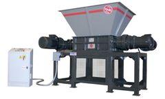 ISVE Recycling - Model B-70/80S - Double-shafts Shredder