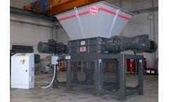 ISVE Recycling - Model B-70/100S - Double-shafts Shredder