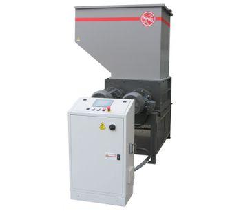 ISVE Recycling - Model 60-80S - Four-shafts Shredders