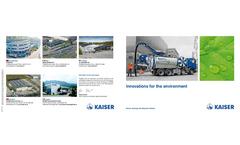 Aquastar- CityCycler - Model 15–18 Tons - Water Recycling Vehicle Brochure