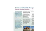 Environmental Liability Management Brochure
