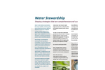 Water Stewardship Services Brochure
