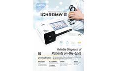 Ichroma - Model II - Advanced Compact Immuno-Analyzer - Brochure