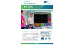 FX 3000 Compact Patient Monitor Brochure