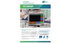 FX 3000P Portable Patient Monitor Brochure