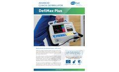 DefiMax Plus Advanced Clinical Defibrillator Brochure