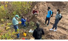 Wesleyan University Students Research Aquifer Recharge with Water Level Monitoring