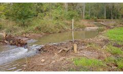 Stream Restoration Project also Recharges Groundwater and Revives Wetlands