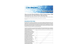 Successful Remediation Pilot Study Uses TROLL® 9500 Instrument for Real-Time Monitoring - Application Note
