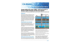 Florida Utility Uses Aqua TROLL ®  200 Instruments to  Monitor Aquifer Storage and Recovery System - Application Note