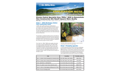 Erosion Control Specialist Uses TROLL® 9000 to Demonstrate How Construction Site Runoff Impacts Water Quality - Application Note