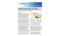 Drought Notification System in Texas Monitors Groundwater Leveis and Spring Flow to Trigger Action - Application Note