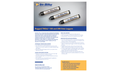 Rugged TROLL 100 and 200 Data Loggers - Specifications