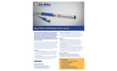Aqua TROLL 600 Multiparameter Sonde - Specification Sheet