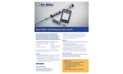 Aqua TROLL 500 Multiparameter Sonde - Specification Sheet