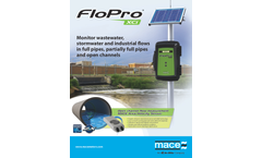 FloPro XCi Flow and Water Quality Monitoring - Brochure
