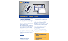 Cellular Network Telemetry Systems - Specification Sheet