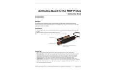 Antifouling Guard for the RDO Probes - Instruction Sheet