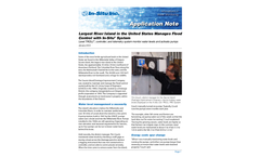 Largest River Island in the United States Manages Flood Control with In-Situ® System - Application Note
