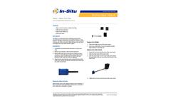 Wiper / Wiper Port Plug - Instruction Sheet