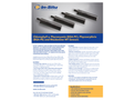 Chlorophyll a, Phycocyanin (BGA-PC), Phycoerythrin (BGA-PE) and Rhodamine WT Sensors - Specification Sheet