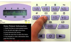 Bionet interpretive 12 channel electrocardiogram (ECG/EKG) machine CardioCare2000 Basic Operation - Video