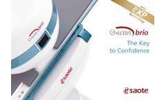 Esaote - Model G-scan Brio - MRI Systems - Brochure