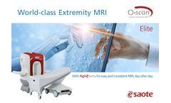 O-scan Elite - MRI Systems - Brochure